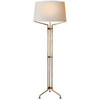 Visual Comfort CHA9710GI-NP E. F. Chapman Terrazo 66 inch 100 watt Gilded Iron with Wax Decorative Floor Lamp Portable Light