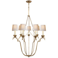 Visual Comfort CHC1403GI-NP E. F. Chapman Belvedere 9 Light 33 inch Gilded Iron with Wax Chandelier Ceiling Light