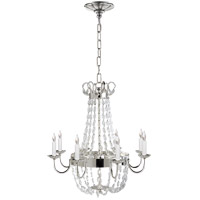 Visual Comfort CHC1426PS-SG E F Chapman Paris Flea Market 8 Light 24 inch Polished Silver Chandelier Ceiling Light photo thumbnail