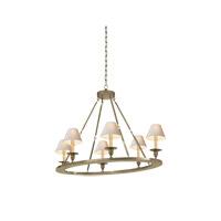 Visual Comfort CHC1444AN E.F. Chapman Oval 6 Light 36 inch Antique Nickel Chandelier Ceiling Light