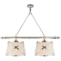E. F. Chapman Grosvenor 4 Light 51 inch Polished Nickel Linear Pendant Ceiling Light