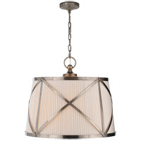 Visual Comfort CHC1483AN-L E. F. Chapman Grosvenor 3 Light 24 inch Antique Nickel Hanging Shade Ceiling Light photo thumbnail