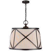 E. F. Chapman Grosvenor 3 Light 24 inch Bronze Hanging Shade Ceiling Light