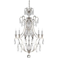 Visual Comfort E.F. Chapman Penhurst 6 Light Chandelier in Polished Nickel CHC1555PN-CG