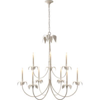 Visual Comfort E.F. Chapman Darlana 9 Light Chandelier in Old White CHC1575OW