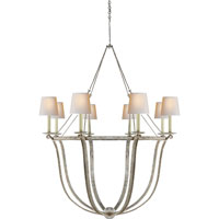 Visual Comfort CHC1577OW-NP E. F. Chapman Lancaster 8 Light 42 inch Old White Chandelier Ceiling Light