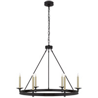 Visual Comfort CHC1601BZ E. F. Chapman Launceton 6 Light 36 inch Bronze Chandelier Ceiling Light