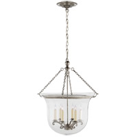E.F. Chapman Country 6 Light 21 inch Antique Nickel Foyer Pendant Ceiling Light