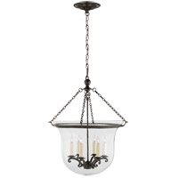 Visual Comfort E.F. Chapman Country 6 Light Ceiling Lantern in Bronze with Wax CHC2110BZ
