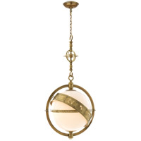 Visual Comfort CHC2112AB-WG E. F. Chapman Zodiac 2 Light 24 inch Antique-Burnished Brass Pendant Ceiling Light