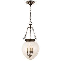 Visual Comfort CHC2114BZ E. F. Chapman Amphora 3 Light 12 inch Bronze Pendant Ceiling Light