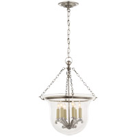Visual Comfort E.F. Chapman Country 6 Light Ceiling Lantern in Antique Nickel CHC2117AN