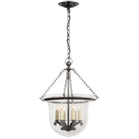 Visual Comfort E.F. Chapman Country 6 Light Foyer Pendant in Bronze CHC2117BZ