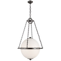 Visual Comfort CHC2135BZ-WG E. F. Chapman Modern 2 Light 24 inch Bronze Pendant Ceiling Light