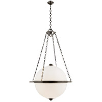 E. F. Chapman Modern 3 Light 32 inch Bronze Pendant Ceiling Light