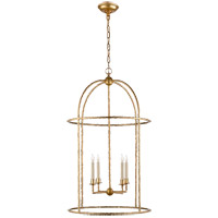 Visual Comfort E.F. Chapman Desmond 4 Light Foyer Pendant in Gild CHC2160G