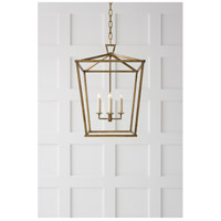 Visual Comfort CHC2165GI E. F. Chapman Darlana 4 Light 17 inch Gilded Iron Foyer Lantern Ceiling Light alternative photo thumbnail