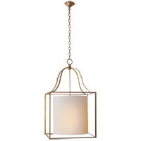 Visual Comfort CHC2167GI-NP E. F. Chapman Gustavian 3 Light 21 inch Gilded Iron Foyer Pendant Ceiling Light
