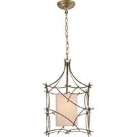 Visual Comfort E.F. Chapman Victoria 1 Light Pendant in Gilded Iron with Wax CHC2169GI-NP