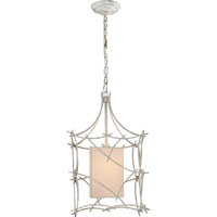 Visual Comfort E.F. Chapman Victoria 1 Light Pendant in Old White CHC2169OW-NP