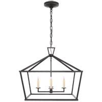 Visual Comfort CHC2187AI E. F. Chapman Darlana 4 Light 28 inch Aged Iron Foyer Lantern Ceiling Light Medium Wide