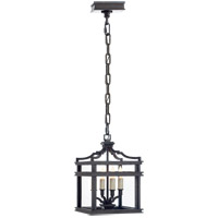 Visual Comfort E.F. Chapman Mykonos 4 Light Foyer Pendant in Aged Iron CHC2190AI