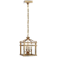 Visual Comfort E.F. Chapman Mykonos 4 Light Foyer Pendant in Gilded Iron CHC2190GI