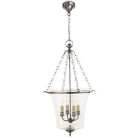 Visual Comfort E.F. Chapman Sussex 4 Light Ceiling Lantern in Antique Nickel CHC2210AN