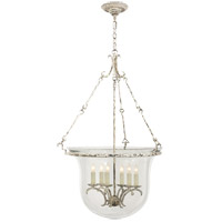 E. F. Chapman New Country 6 Light 23 inch Old White Foyer Pendant Ceiling Light
