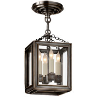 E. F. Chapman Lund 4 Light 7 inch Bronze Pendant Ceiling Light