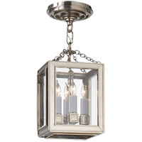 E. F. Chapman Lund 4 Light 7 inch Polished Nickel Pendant Ceiling Light