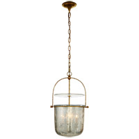 Visual Comfort CHC2269GI-MG E. F. Chapman Lorford 4 Light 14 inch Gilded Iron Bell Lantern Ceiling Light, Small