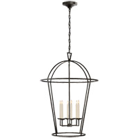 Visual Comfort E.F. Chapman Darlana 6 Light Foyer Pendant in Aged Iron CHC2366AI