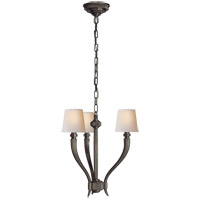 Visual Comfort CHC2461BZ-NP E. F. Chapman Ruhlmann 3 Light 18 inch Bronze Chandelier Ceiling Light