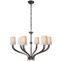 E. F. Chapman Ruhlmann 6 Light 35 inch Bronze Chandelier Ceiling Light