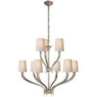 Visual Comfort CHC2465AN-NP E. F. Chapman Ruhlmann 9 Light 35 inch Antique Nickel Chandelier Ceiling Light