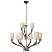 Visual Comfort E.F. Chapman Ruhlmann 9 Light Chandelier in Bronze with Wax CHC2465BZ-NP
