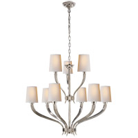 E. F. Chapman Ruhlmann 9 Light 35 inch Polished Nickel Chandelier Ceiling Light