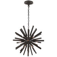 Visual Comfort CHC3111AI E. F. Chapman Lawrence 20 Light 20 inch Aged Iron Sputnik Chandelier Ceiling Light