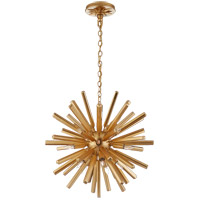Visual Comfort CHC3111G E. F. Chapman Lawrence 20 Light 20 inch Gild Sputnik Chandelier Ceiling Light