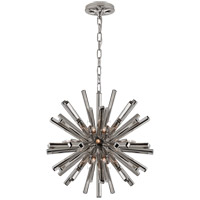 Visual Comfort CHC3111PN E. F. Chapman Lawrence 20 Light 20 inch Polished Nickel Sputnik Chandelier Ceiling Light