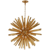 Visual Comfort CHC3112G E. F. Chapman Lawrence 20 Light 30 inch Gild Sputnik Chandelier Ceiling Light