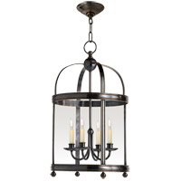 Visual Comfort E.F. Chapman Edwardian 4 Light Ceiling Lantern in Bronze with Wax CHC3427BZ