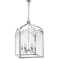 Visual Comfort E.F. Chapman Westminster 6 Light Ceiling Lantern in Polished Nickel CHC3437PN