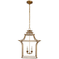 E.F. Chapman Brighton 4 Light 20 inch Gilded Iron Foyer Pendant Ceiling Light