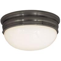 Visual Comfort CHC4203BZ E. F. Chapman Crown 2 Light 16 inch Bronze Flush Mount Ceiling Light