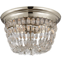 Visual Comfort CHC4207PS-SG E. F. Chapman Paris Flea Market 2 Light 13 inch Polished Silver Flush Mount Ceiling Light
