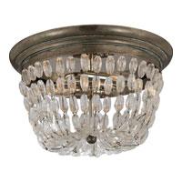 Visual Comfort CHC4207SHS-SG E. F. Chapman Paris Flea Market 2 Light 13 inch Sheffield Silver Flush Mount Ceiling Light