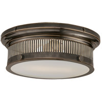 E. F. Chapman Alderly 2 Light 13 inch Bronze Flush Mount Ceiling Light