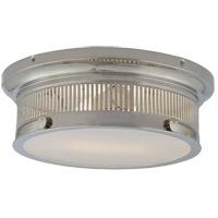 Visual Comfort CHC4391PN-WG E. F. Chapman Alderly 2 Light 13 inch Polished Nickel Flush Mount Ceiling Light